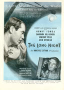 The Long Night Vintage Ad