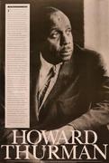 Howard Thurman Poster