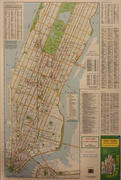 Manhattan Visitor's Guide Map Poster