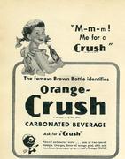 Orange-Crush Vintage Ad