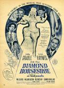 Diamond Horseshoe Vintage Ad