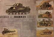 Plaistow Pictorial Sherman Fact Sheet Poster