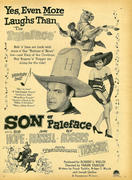 Son Of Paleface Vintage Ad