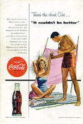"Coca-Cola: There's This About Coke...""It Couldn't Be Better"" Vintage Ad"