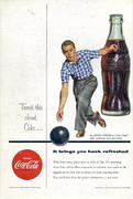 Coca-Cola: It Brings You Back Refreshed Vintage Ad