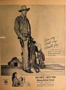 Along Came Jones Vintage Ad