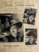Stetson Hats Vintage Ad