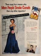 Camel Cigarettes: More People Smoke Camels Vintage Ad