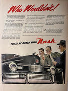 Nash: Who Wouldn't! Vintage Ad