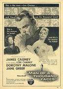 Man Of A Thousand Faces Vintage Ad