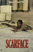 """Scarface: """"Who Do I Trust? Me."""" Poster"""