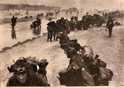 Queen White Sector On Sword Beach, June 6, 1944 Poster