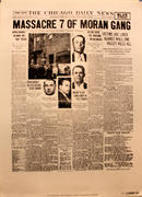 The Chicago Daily News February 14, 1929 Poster