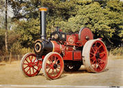 Traction Engine 2824 Lord Lansdowne Poster