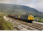 British Rail Class 76 1500v DC Electric Locos Poster