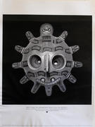 """Mask of """"Oculate"""" Deity with Serpent Motifs Collection: The Brooklyn Museum, New York Poster"""