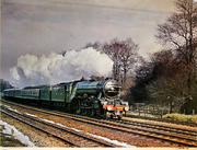 Loco No. 4472 Flying Scotsman Poster