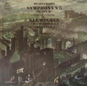 """Symphony No. 5 """"Scotch"""" Hebrides Overture Vinyl 12"""" (Used)"""