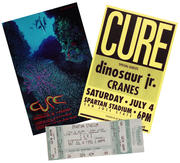 The Cure Poster/Ticket Set
