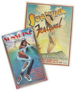 The Annual Sunshine Festival Poster Set