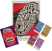 Jefferson Airplane Poster/Postcard/Ticket Set