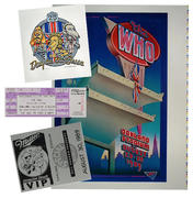 The Who Proof/Ticket/Laminate Set