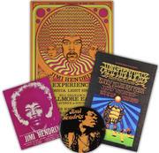 Jimi Hendrix Poster Set