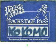 Kokomo Backstage Pass