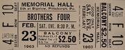 Brothers Four Vintage Ticket
