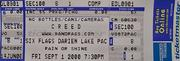 Creed Vintage Ticket