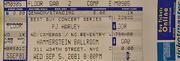 PJ Harvey Vintage Ticket