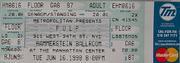 Pulp Vintage Ticket