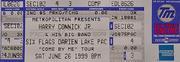 Harry Connick Jr. Vintage Ticket