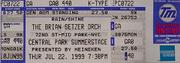The Brian Setzer Orchestra Vintage Ticket