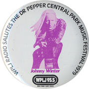 Johnny Winter Pin