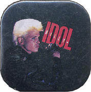 Billy Idol Pin