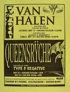 Van Halen Handbill