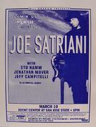 Joe Satriani Handbill