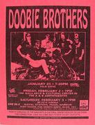 Doobie Brothers Handbill