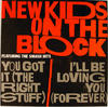 New Kids On The Block Album Flat reverse side