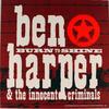 Ben Harper & The Innocent Criminals Album Flat reverse side