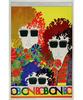 Bob Dylan Poster/Pellon/Ticket Bundle reverse side