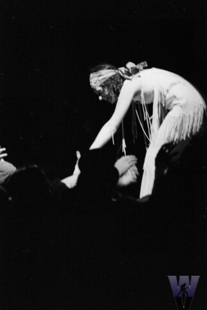 Amazon.com: Grace Slick Woodstock 1969 Photo Band Album