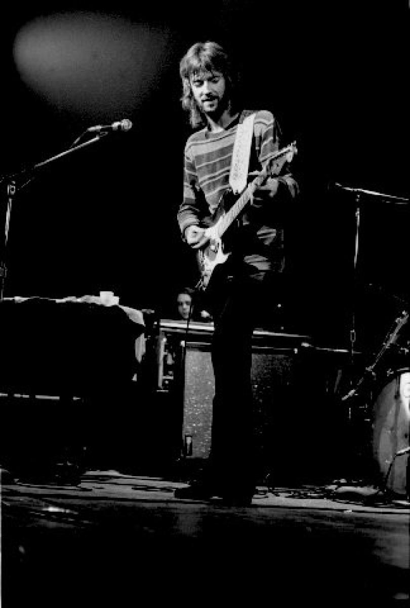Eric Clapton Vintage Concert Fine Art Print From Capitol