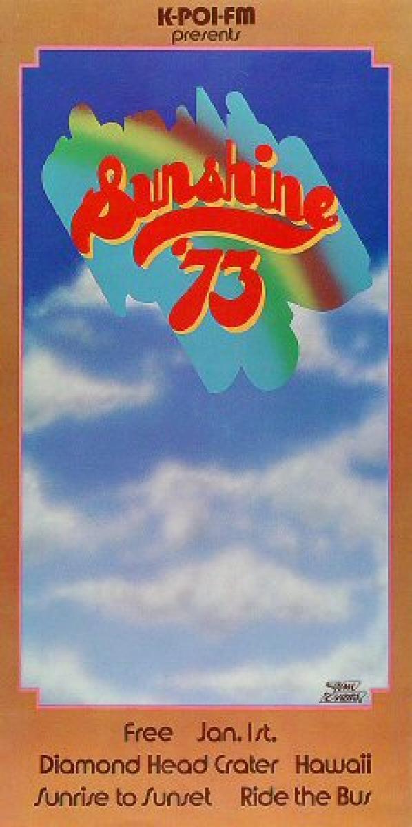 Sunshine Festival Vintage Concert Poster From Diamond Head