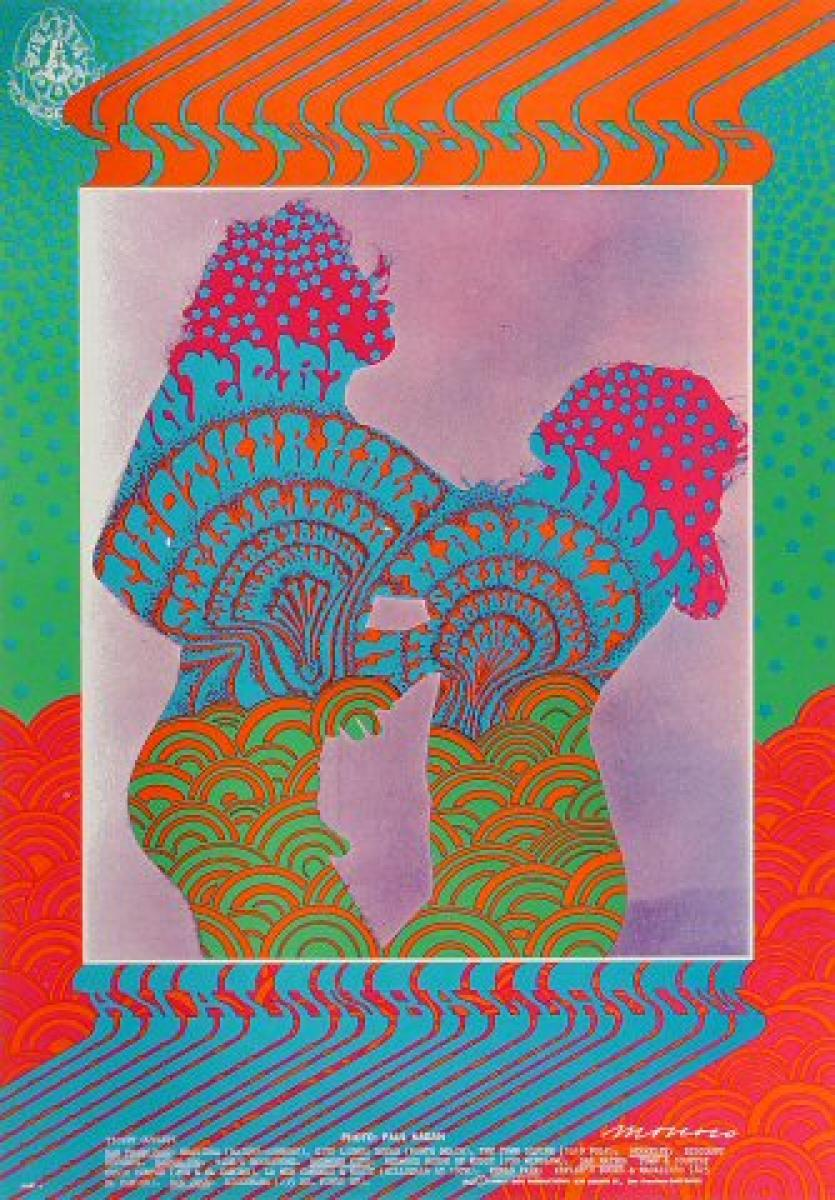 The Youngbloods Vintage Concert Poster From Avalon