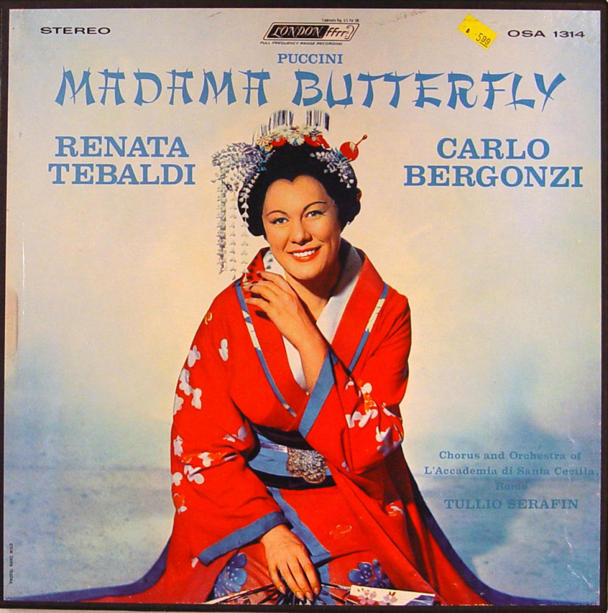 Madama Butterfly Vinyl 12