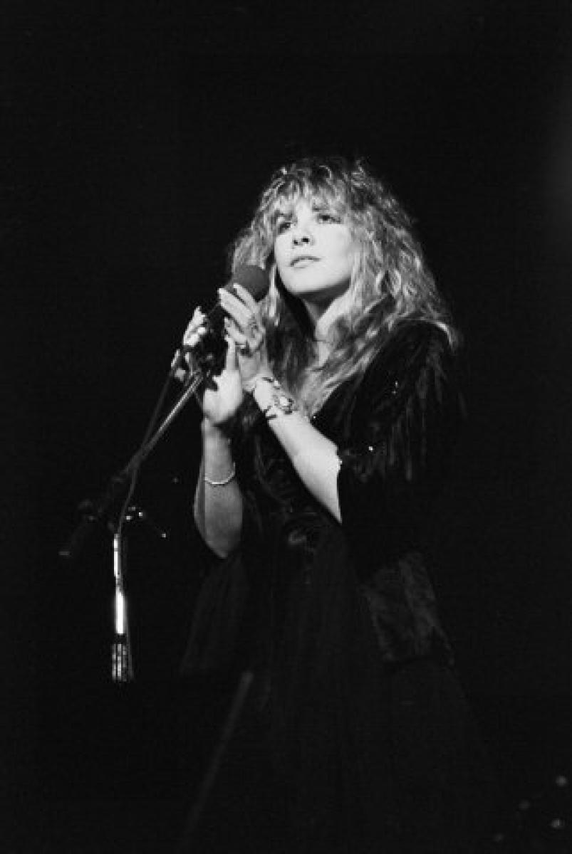 Stevie Nicks Vintage Concert Fine Art Print From Hartford