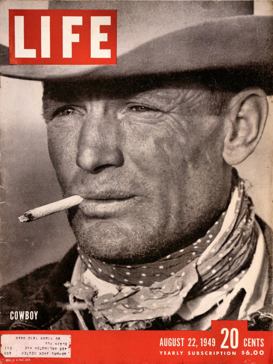 Cover of Life Magazine, 22 August 1949