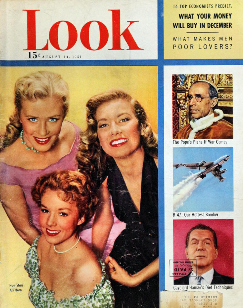 LOOK Magazine August 14, 1951 at Wolfgang's